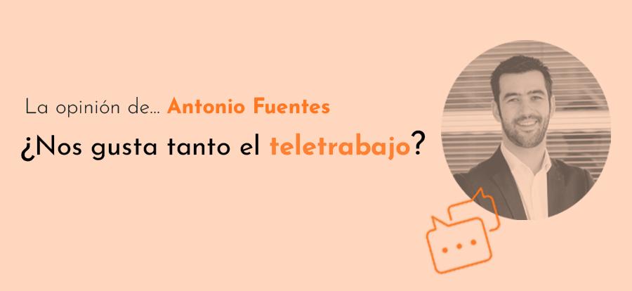 Analisis del teletrabajo en España por Antonio Fuentes