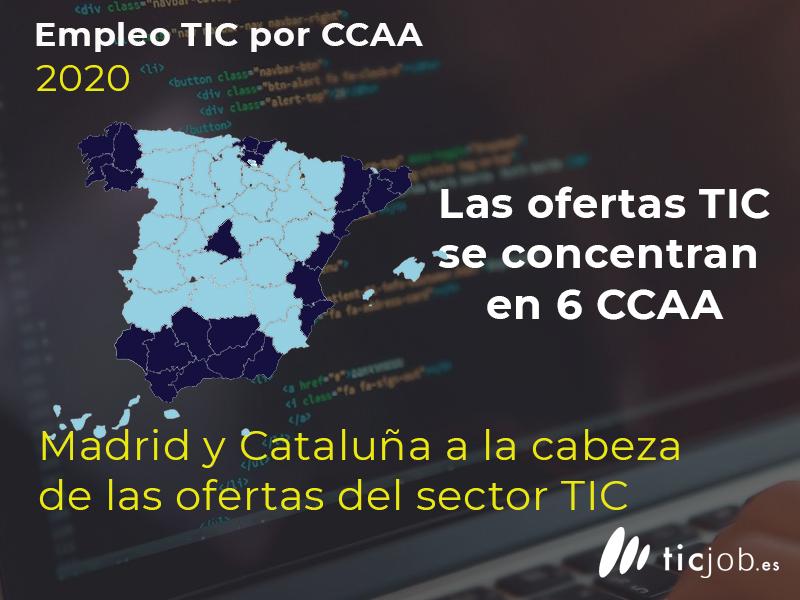 Por CCAA #EmpleoTICJOB
