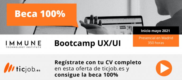 Beca 100% UX/UI