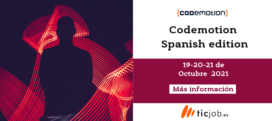 Participa en Codemotion Spanish edition.