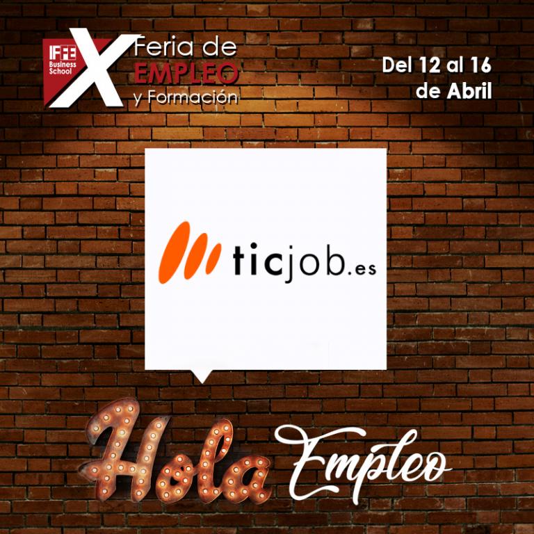Ticjob en Feria de empleo IFFE