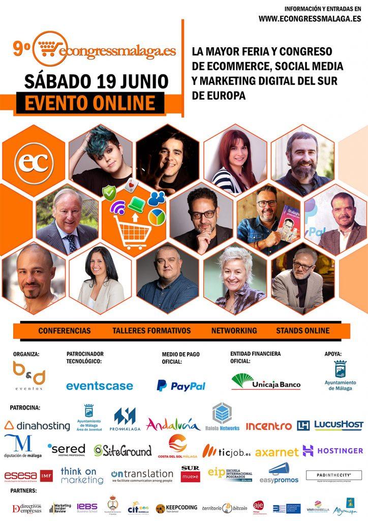 Los expertos del marketing digital y el comercio electrónico se reúnen en el 9º eCongress Málaga ONLINE