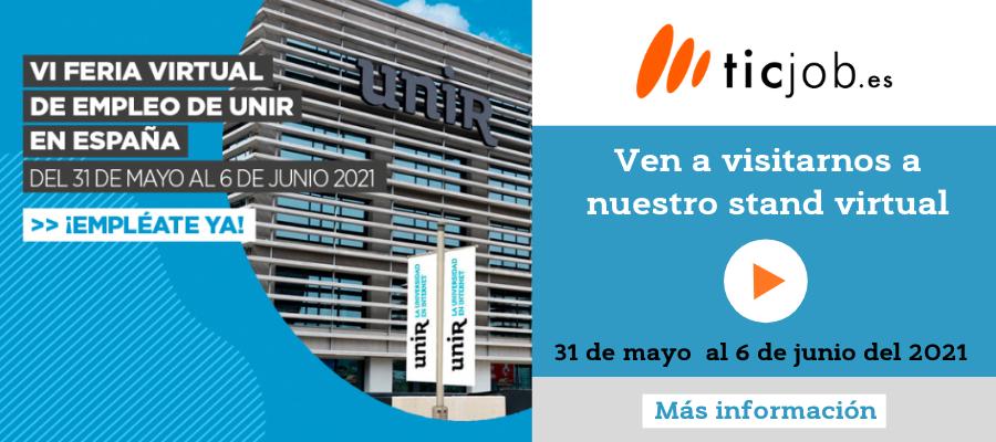 Visita la VI Feria virtual de Empleo Unir.