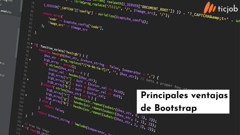 Principalesd ventajas de bootstrap