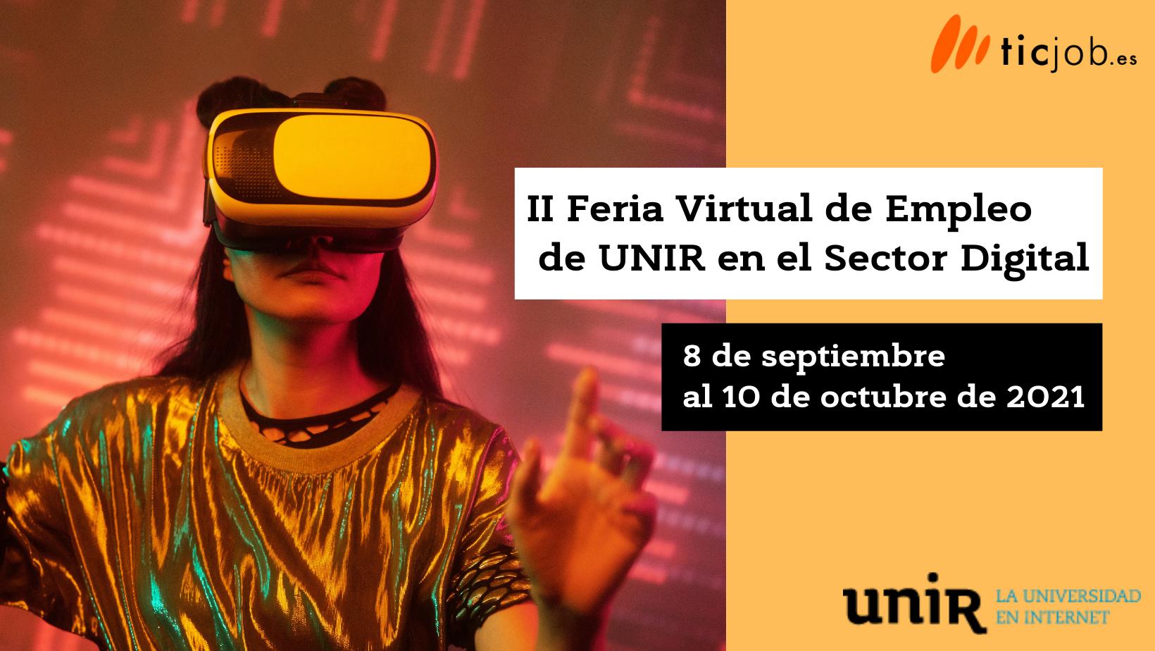 II Feria de Empleo Virtual de Unir