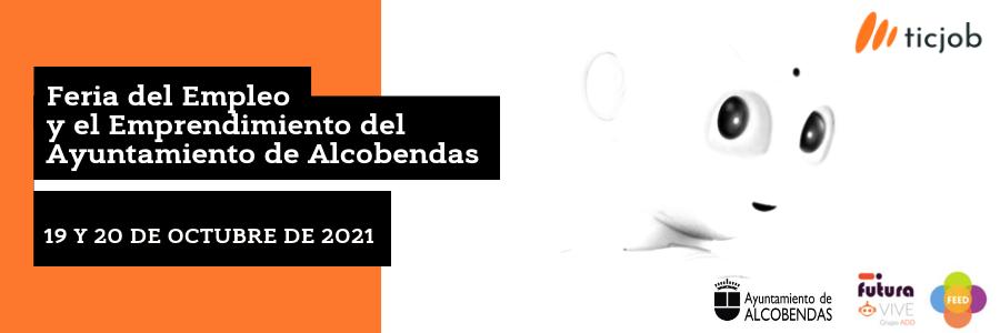 Participa en la Feria del Empleo y el Emprendimiento del Ayuntamiento de Alcobendas.